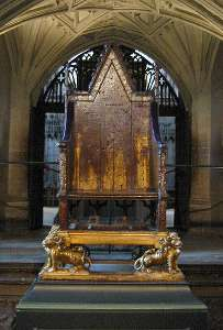 Westminster Abbey Coronation Chair
