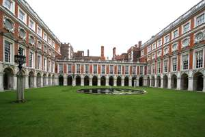 Hampton Court Palace Courtyard